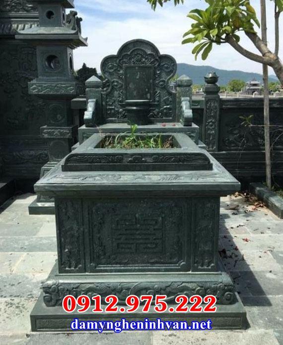 Mẫu mộ để tro cốt đơn giản