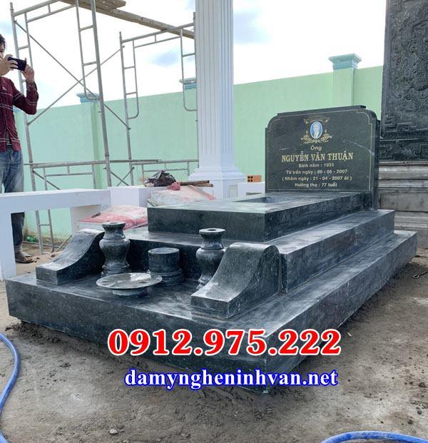 Mẫu mộ xây để hài cốt đơn giản