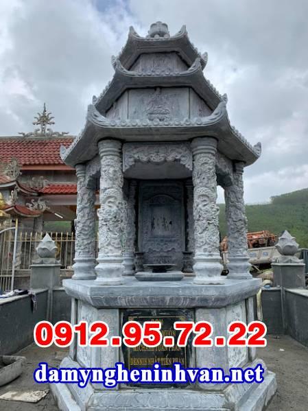 Mộ tháp đá Phật giáo đẹp